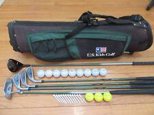 "LH BOYS U.S. KIDS Ultralight Junior Golf Set & Bag  Ages 9-12 or 54"" to 58"" (+-)"