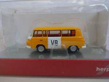 Herpa 066358 Barkas B 1000 Bus VB Polizei Tschechien TT 1:120 Neu