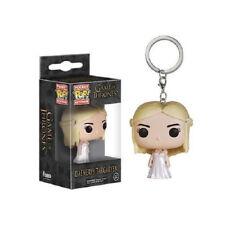 Keyring Funko Pocket POP Daenerys Targaryen Original KeyChain With Box Gift Toy
