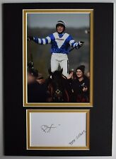 More details for bryony frost signed autograph a4 photo display horse racing cheltenham jockey
