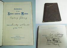 Handschrift BERLIN 1919 - Leben unseres Kindes Ingeborg GÖHRING // Papritz