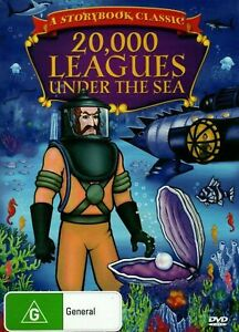 20000 LEAGUES UNDER THE SEA -childrens Kid's Children Classic story G Region 4