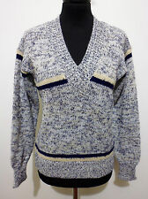 CULT VINTAGE '80 Maglione Maglia Donna Optical Woman Sweater Sz.S - 42