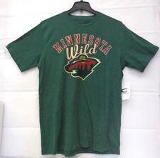 Minnesota Wild Men's L G-III Playmaker Slub Tri-blend Top Shirt 019