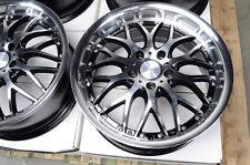 17 5x120 Effect Wheels Polished Fits BMW 318 325 CTS 328 Z4  Acura 5 Lug Rims