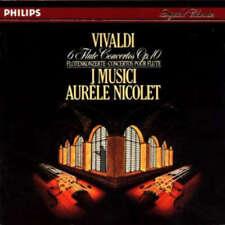 Vivaldi* - I Musici, Aurèle Nicolet - 6 Flute Conc CD - 5977