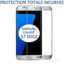 Film Gris Argent Samsung Galaxy S7 Edge 3d Bord Incurvé Intégral Total