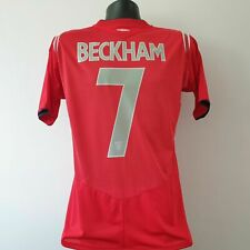 BECKHAM 7 England Shirt - Medium - 2004/2006 - Away Jersey Football Umbro