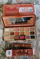 TOO FACED Gingerbread Extra Spicy Palette & Melted Matte Gingerbread Girl SET