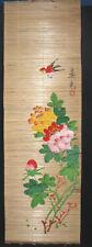 Bambusbild handbemalt Asiatica Gemälde Wandbehang 114 China chinesisch