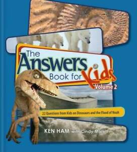 Answers Book for Kids Volume 2 - Library Binding By Ken Ham - GOOD