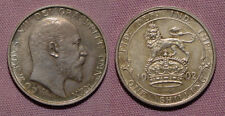 1902 KING EDWARD VII CORONATION MATT PROOF SHILLING