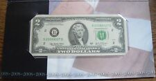 $2 NEW YORK SINGLE NOTE SOLD OUT AT BEP #B 20089027D
