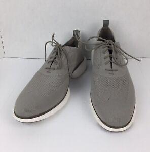 Cole Haan Mens 3.Zero Grand Plus Distance Sneaker Knit Shoes Gray 11.5 M