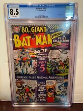 BATMAN #185 - 80 Pg Giant # G27 CGC GRADED 8.5 VF+ White pages STUNNING