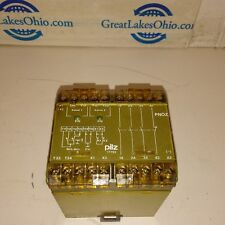 Pilz 17753 PN0Z 24 VDC 3S 10 2000VA Safety Stop Relay