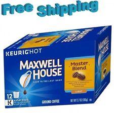 Maxwell House Master Blend Light Roast Coffee Keurig k-cups