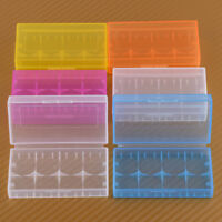 6x Fit for 16340 Rechargeable Batteries Plastic Case Holder Storage Box Cover