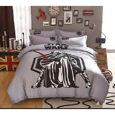 Queen Size Star Wars Duvet Cover Bedding Set Boys Girls Bedroom
