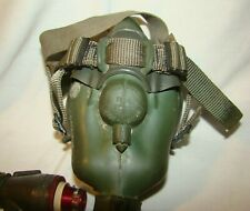 Usaf Ms-22001 Oxygen mask 1957 dated Size Medium with Navy Af Connector