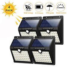 Solar Power PIR Motion Sensor LED Light Outdoor Garden Wall Lamp Waterproof Yard