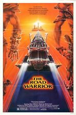 """MAD MAX 2 ROAD WARRIOR 1981 Original SS 27x41"""" US One Sheet Movie Poster Miller"""