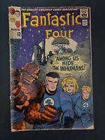 Fantastic Four Silver Age Comic # 45 1st appearance of the Inhumans
