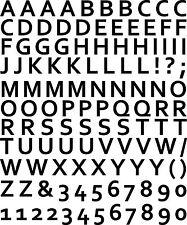 Sticker Chiffres & Lettres 102 - 57x68 cm