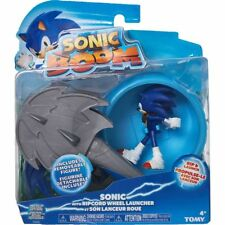 Tomy SONIC BOOM Ripcord Wheel Launcher - Includes Removable Figure