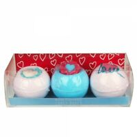 LOVEY DOVEY 3 x Bath Bomb Blaster Bomb Cosmetics Gift Pack 3x160g - FREE P+P
