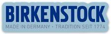 Birkenstock Logo Aesthetic Hydro Water Bottle Laptop Phone VSCO Sticker