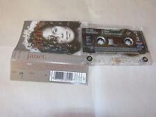 JANET JACKSON - K7 audio / Audio tape !!! JANET !!! TCV 2720 !!!