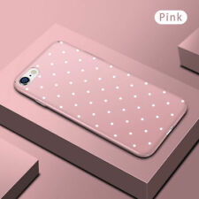 Cute Polka Dot Cell Phone Hard Protective Case Cover For iPhone XS Max XR 8 5 6S