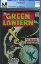 CGC 6.0 GREEN LANTERN #24 SHARK 1ST APPEARANCE 1963 OW/W PAGES GIL KANE COVER