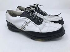 Women's FootJoy eComfort Golf Shoes Size 10 M Soft Spike White