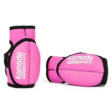 Pink Weighted Gloves Wrist Hand Fitness Training Gym Shadow Boxing Weights MMA