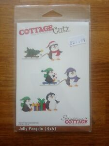 Scrapping Cottage Cottage Cutz - Jolly Penguin - Die Cutter