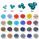 Bicone Faceted Crystal Glass 3mm 4mm 6mm 8mm Loose Beads lot for Jewelry Making
