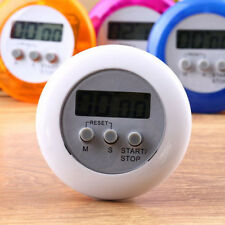 LCD Digital Kitchen Cooking Timer Count Down Up Clock Loud Alarm Clock Loud Mini