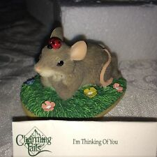 "Charming Tails ""I'M Thinging Of You"" * Dean Griff Mouse Fitz & Floyd"