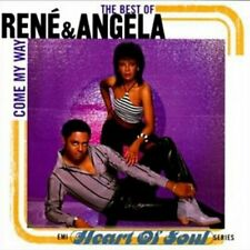 The Best Of Rene & Angela Come My Way EMI R&B Funk Soul Music Rare OOP CD And
