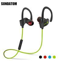 Waterproof Bluetooth Earbuds Beats Sports Wireless Headphone Stay in Ear + MIC