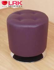 Cleverfurn drehbarer Sitzhocker lila
