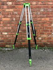 IMEX ALUMINIUM FLAT TOPPED SURVEY / GROUNDWORK TRIPOD FOR LASER / LEVEL,