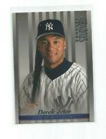 DEREK JETER (New York Yankees) 1997 DONRUSS STUDIO CARD #91