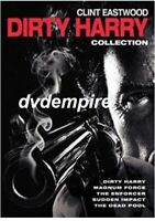 Dirty Harry DVD Clint Eastwood 5 Film Collection New Sealed Australian Release