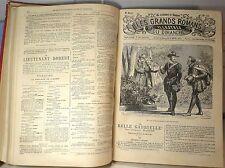 Les grands romans illustrés du dimanche, année 6, XIX è … World FREE Shipping*