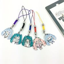 Vocaloid Hatsune Miku Snow YUKI MIKU Cell Phone Chain Strap Drop Toy Decorations