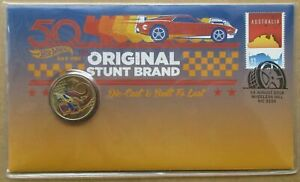 AUSTRALIA DECIMAL..2018 50 YEARS OF HOT WHEELS....*** LIMITED EDITION ***..PNC