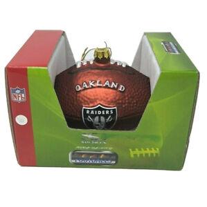 Oakland Raiders Football Ornament Christmas Sport Decor Gift Stocking Stuffer